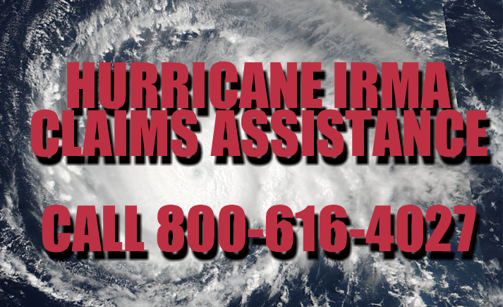 Hurricane Irma Claims Assistance