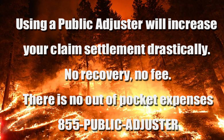 California Wildfire Public Adjuster